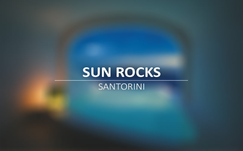 Sun Rocks Santorini